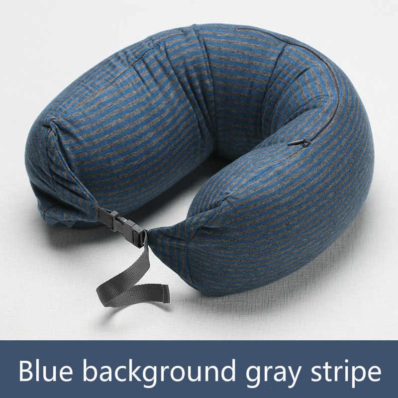 muji u pillow neck pillow shaped particles u neck pillow for siesta pillow plane travel