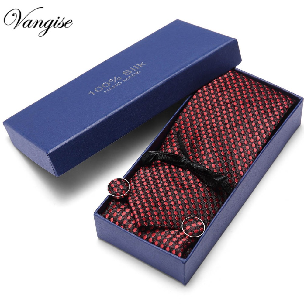 Party Wedding Classic Pocket Square Tie Wine Red Gold Check 3