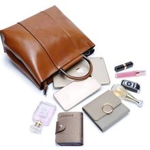 Zency 6 Colors Famous Brand Designer Women Handbag Casual Tote Bag High Quality Vintage Ladies Shoulder Messenger Purse Brown