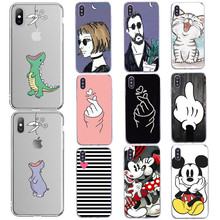 5 5S SE Thin Shell Minions Painting Cover Case For Apple iphone 4 4S 5 5S SE 6 6S 4.7 Inch Soft TPU Back Phone Case zomgo chinese brush painting ceramic style aluminum back case for iphone 4 4s mouse