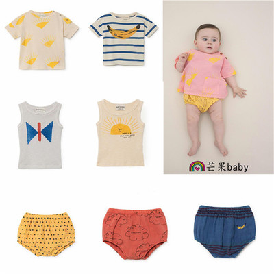 1-3 2018 SUMMER BOBO CHOSES BABY SHORT T SHIRTS CLOTHING SETS JUMPSUITS OVERALLS BABY ROMPERS BABY BOY CLOTHES BABY GIRL CLOHTES bobo choses пододеяльник