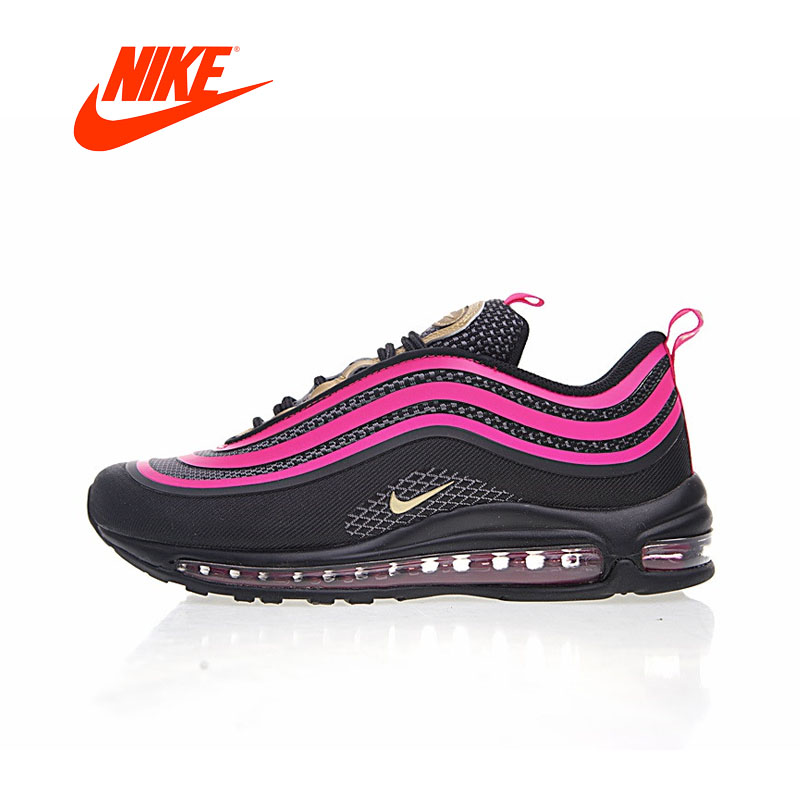 Original New Arrival Authentic NIKE AIR MAX 97 ULTRA 17 Womens Running Shoes Sneakers Breathable Sport Outdoor Good Quality original new arrival authentic off white x nike air max 97 menta men s running shoes sport sneakers good quality aj4585 101