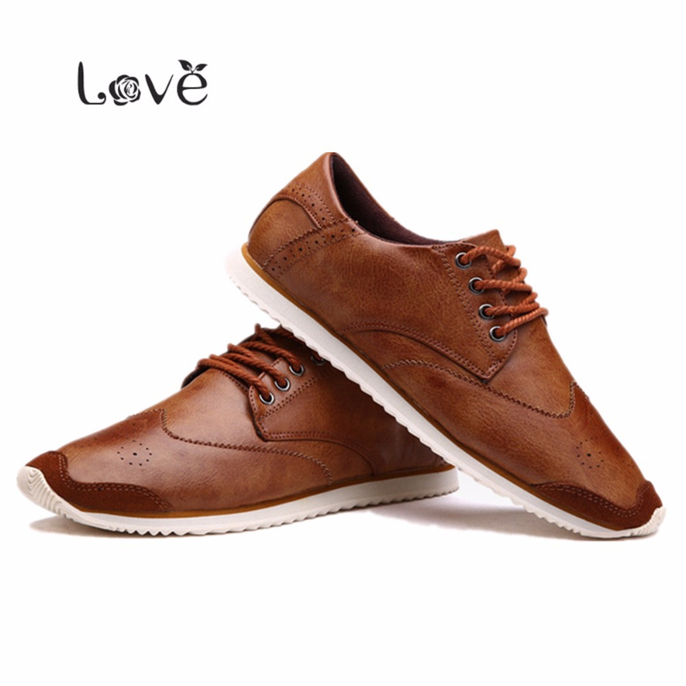 Aliexpress.com : Buy 2016 All Season Vintage Men Shoes Full Brogue ...