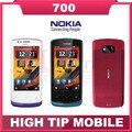 Мобильный телефон Nokia 700, разблокированный отремонтированный Bluetooth wi-fi 3,2 дюймов 5 мп