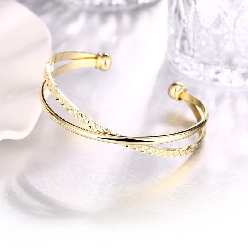 BOAKO Top Quality Bracelet & Bangle for Women Captivate Slider CZ Rose Gold Color Jewelry Bracelet Pulseira Feminina Z3