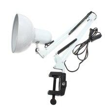 ARILUX Гибкая Swing Arm крепление лампы офис-студия домашний E27/E26 белый светильник Настольный AC85-265V Новый