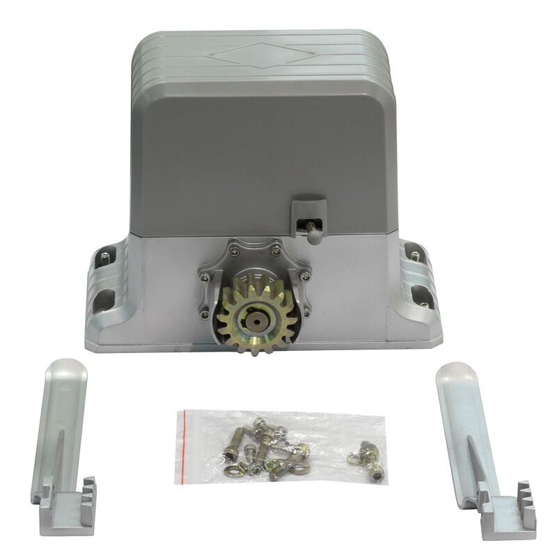 1800kg Electric Sliding Gate Motors Remote Control Gear