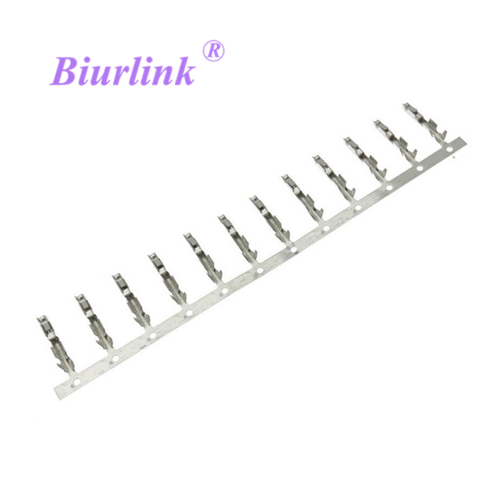 Biurlink 10 X AUX Cable Harness Wiring Terminal Block Socket Connector Pins For Volkswagen BMW Opel Ford Peugeot