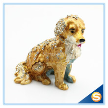 Dog Trinket Box Jewelry Gift Box