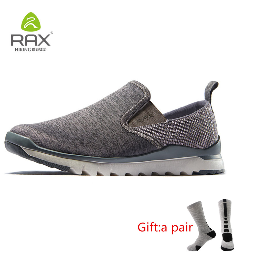 RAX Mens Jogging Shoes Spring&Summer Outdoor Sports Sneakers Women Lightweight Walking Shoes Men Breathable Sneaker With gift