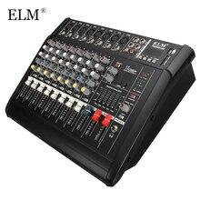 ELM Professional Karaoke Audio font b Sound b font font b Mixer b font 8 Channel