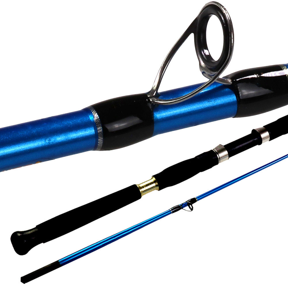 Thkfish Carbon Fiber Fishing Rod 1.35m 1.5m 2 Section Carbon Fiber Spininng Fishing Rod Boat Travel Rod Fishing Tackle