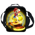 Cute Cartoon Bag Super Mario Cooler Lunch Bag For Kids School Boys Girls Thermal Lunch Bags For Kids Children Gifts