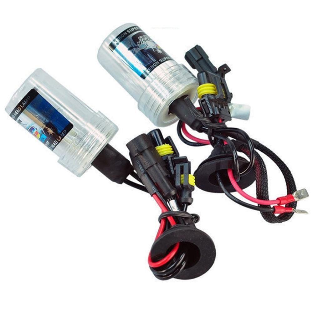 Tonewan hotsale новый двойной свет 12В 55ВТ H7 Ксеноновые комплект LED туман хвост DRL головной лампы акции