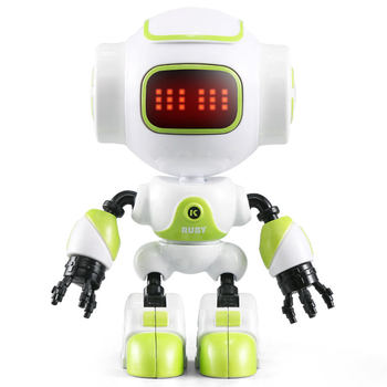 JJRC-R9-RUBY-Touch-Control-DIY-Gesture-Mini-Smart-Voiced-Alloy-Robot-Toy-RC-Robot-For