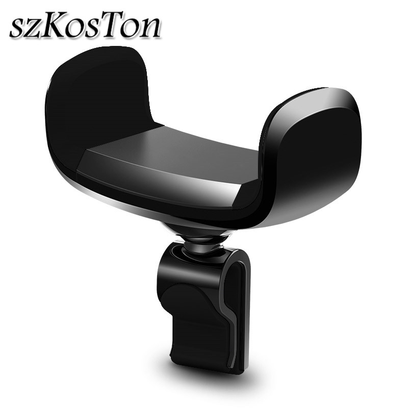 Universal 360 Degree Car Phone Holder For IPhone 8 X 7 6 Adjustable Air Vent Mount Car Mobile Phone Holder Support For Samsung