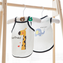 Hipidog Pet Dog Cat Spring Summer Sling Vest Camisole T-shirt Dogs Sleeveless Clothes for Small Chihuahua Teddy Yorkshire
