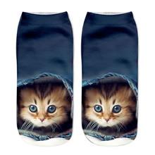 Женские носки 3D socks Harajuku Style