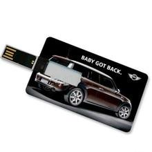Custom Logo Card Usb Flash 8gb16gb 64gb Pendrive External Storage Usb Memory Stick Wedding Photography Gift 15 PCS Free Logo