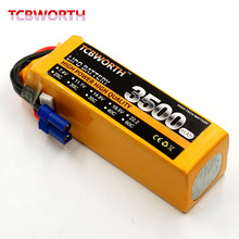 TCBWORTH RC 6S Airplane Lipo battery 22.2V 3500mAh 60C-120C For RC Quadrotor Helicopter Drone Car Boat Li-ion battery