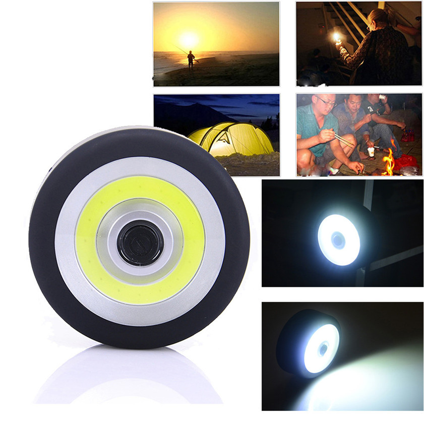 High Quality Magnetic Magnet Stone COB Work Lights Outdoor Fishing Repairpo Righting