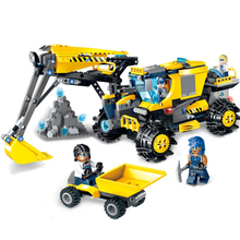 457pcs 2019 New Building Blocks Toys Compatible Friends City Engineering Series Spar Squad Giant Excavator Figures Bricks Gifts 279pcs 2019 new building blocks toys compatible friends city engineer series saw wheel drilling mining truck vehicle gifts
