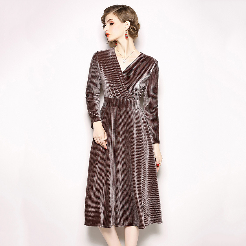86dc7ce7eb Velvet Dresses Archives - TripplePanda