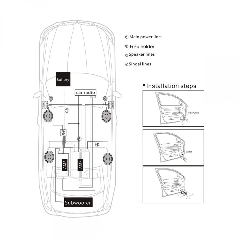 2pcs 5 Inch 60w Car Hifi Coaxial Speaker Vehicle Auto Audio Acer Aspire 7736z Wiring Diagram 21211 Description L6