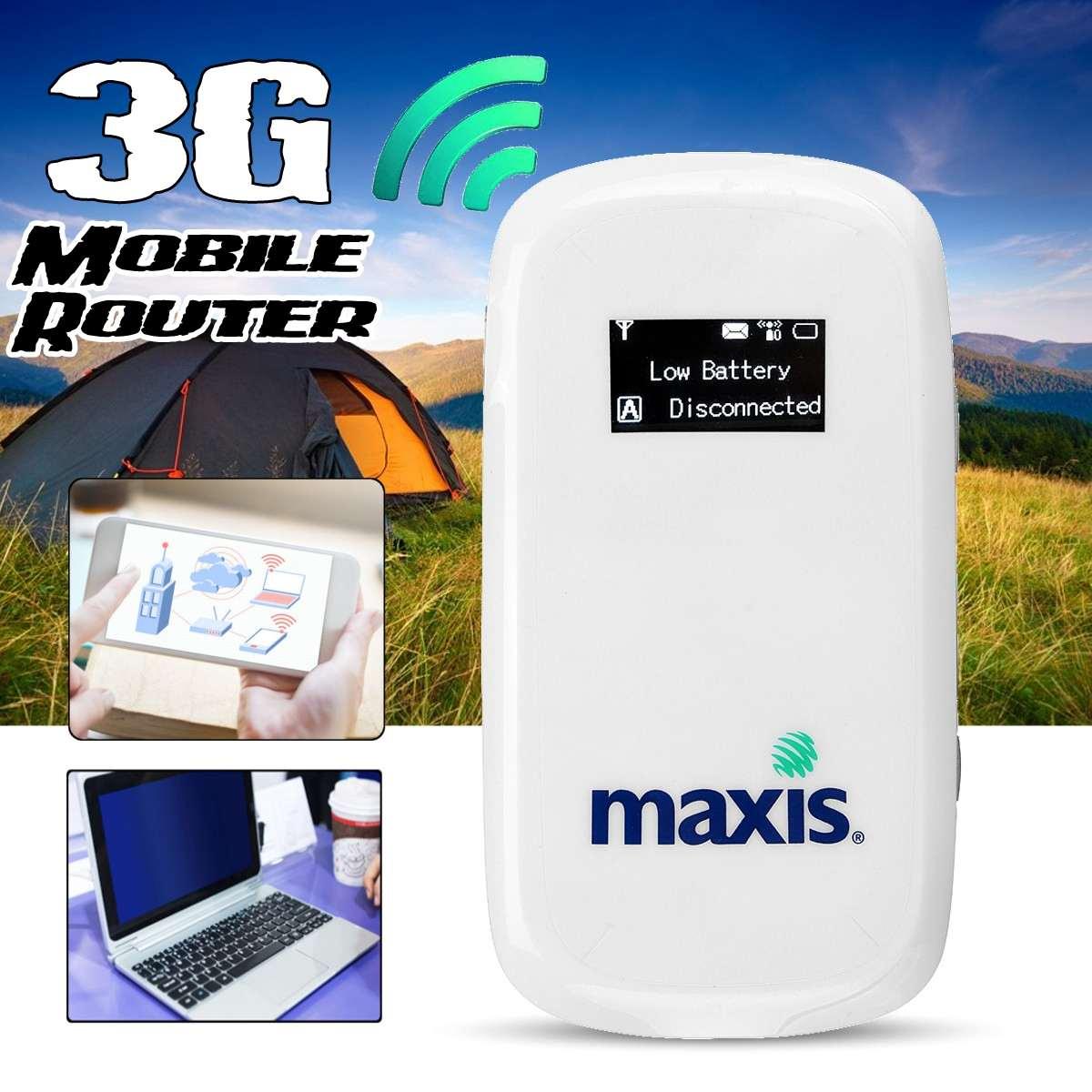 UNLOCKED- 3G Mobile Broadband Modem Wifi Router Mifi SIM Card Wireless HotspotUNLOCKED- 3G Mobile Broadband Modem Wifi Router Mifi SIM Card Wireless Hotspot