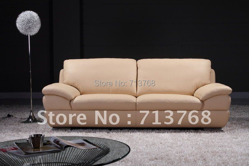 Modern furniture   living room leather sofa   3 seater sofa   MCNO505 China. Popular Leather Modern Furniture Buy Cheap Leather Modern