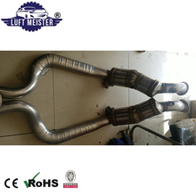 Pair Front Catalytic Converter for 2016 Porsche Panamera S 3.0L V6 Exhaust Pipe 970113349MX 97011334962 97011335062 97011335064