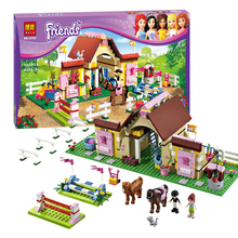 ZW 2016 New Bela Friends 10163 Heartlake Stables Girls Mia's Farm Building Blocks 400pcs/set Bricks toys Compatible with Legoe
