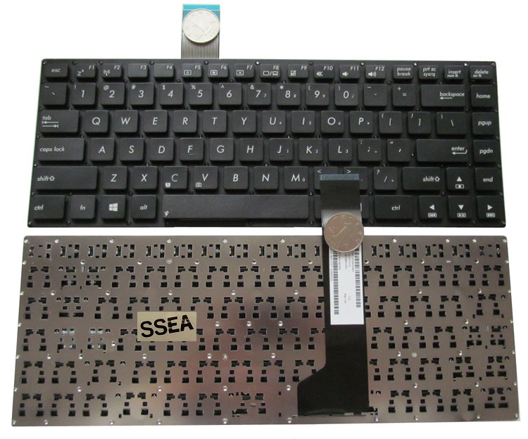 SSEA Free Shipping New Laptop US <font><b>Keyboard</b></font> For <font><b>ASUS</b></font> K46 K46CA K46CB <font><b>K46CM</b></font> <font><b>Keyboard</b></font> Without Frame image