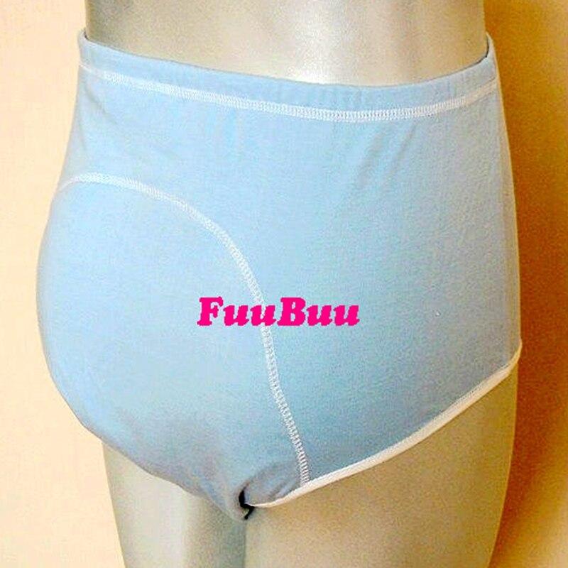 O envio gratuito de FUUBUU2101-3PCS unissex incontinência briefs + calças à prova dwaterproof água fisiológica saúde calças à prova dwall água parede/lala