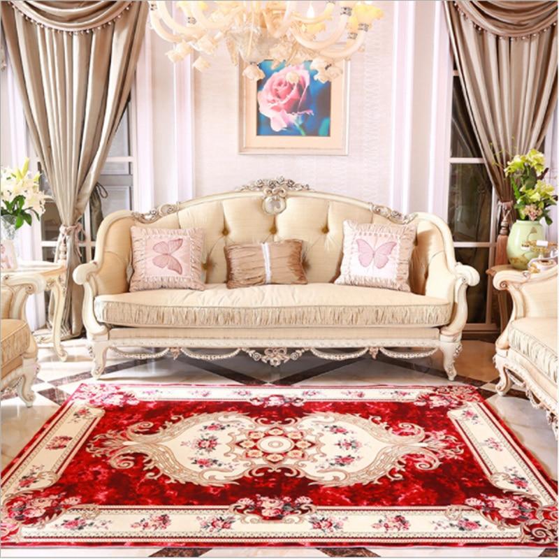 Luxury European Style Royal Large Carpets For Living Room Bedroom Meeting Room Living Room ...