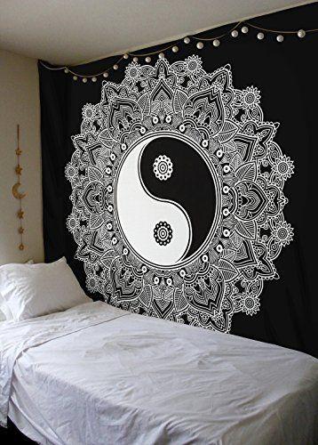 Yoga Mandala Lotus Tapestry 2