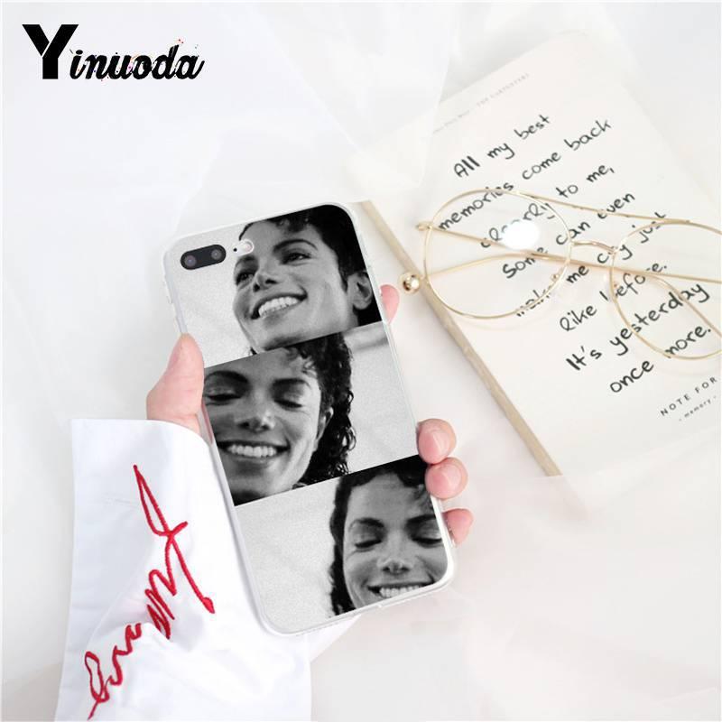 Yinuoda Michael Jackson Singer Novelty Fundas Phone Case  for iPhone 8 7 6 6S Plus X XS MAX 5 5S SE XR 10 Fundas Capa