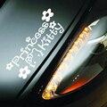 Принцесса Hello Kitty Автомобиля Наклейку для Легкой Лоб Глава Тело Дверь Светоотражающие Водонепроницаемый Украшения Автомобиля Автомобилей Брови Фары Наклейки