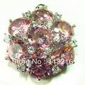 Романтический розовый ювелирные изделия посеребрение подвески R652