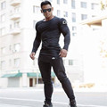 2017 New Fashion Fitness Compression Shirt Men Gymshark Male Crossfit Plus Size Bodybuilding Men T shirt gasp gyms clothing