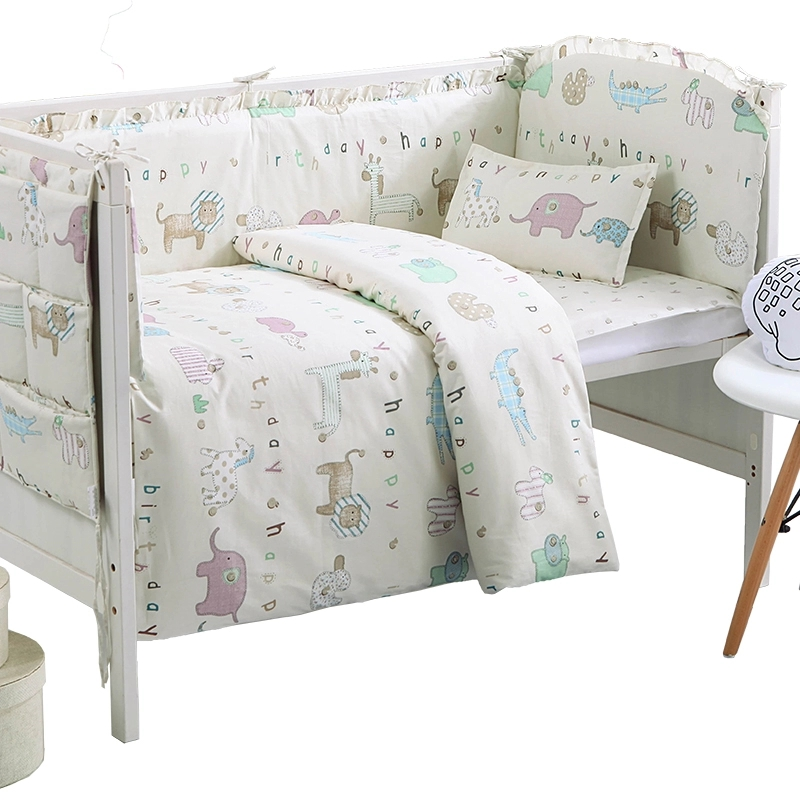 4-10pcs Baby Crib Bedding Set, Cotton Newborn Baby Girl Boy Crib Bed Linens,Baby Safety Infant Cot Protector Bumpers Quilt Sheet4-10pcs Baby Crib Bedding Set, Cotton Newborn Baby Girl Boy Crib Bed Linens,Baby Safety Infant Cot Protector Bumpers Quilt Sheet