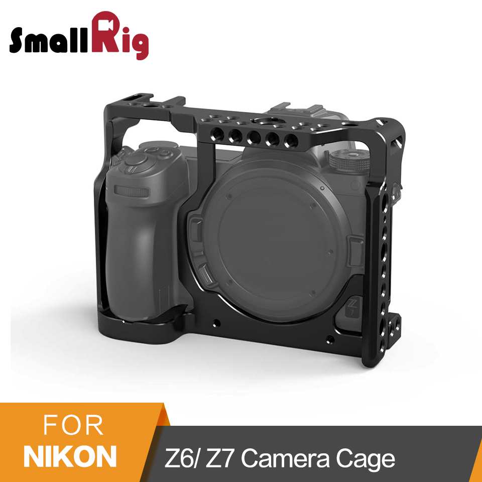SmallRig Z6 Z7 Camera Cage for Nikon Z6 Cage Stabilizer For Nikon Z7 Form fitting Cage