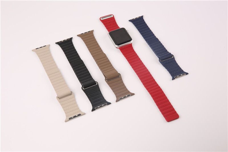 For Apple Watch Leather Loop Strap (5)