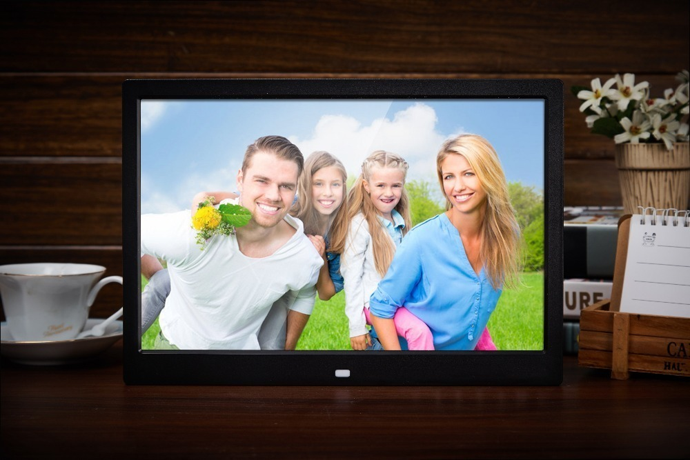 Digital Picture Frame on the table