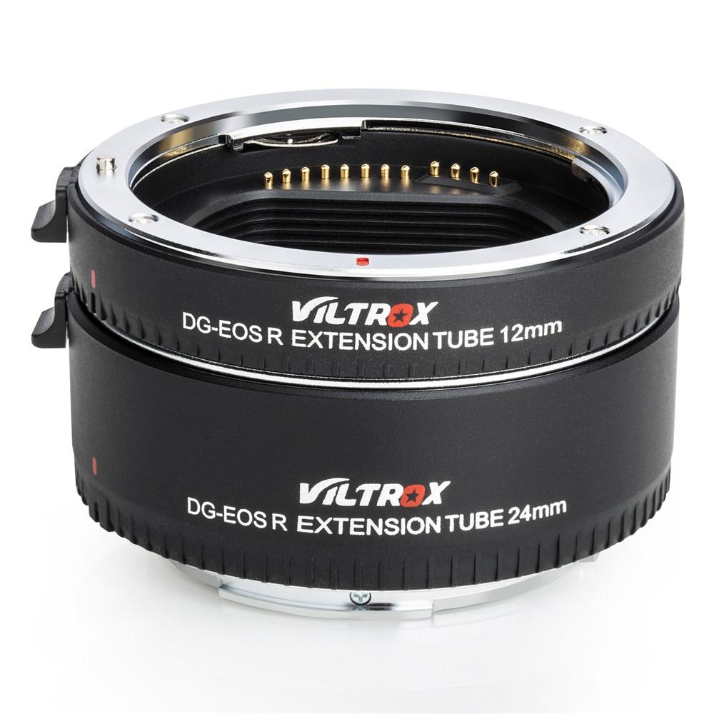 Viltrox pour DG-EOS R adaptateur d'objectif de Tube d'extension Macro à mise au point automatique pour appareil photo Canon EOS R RP - 4
