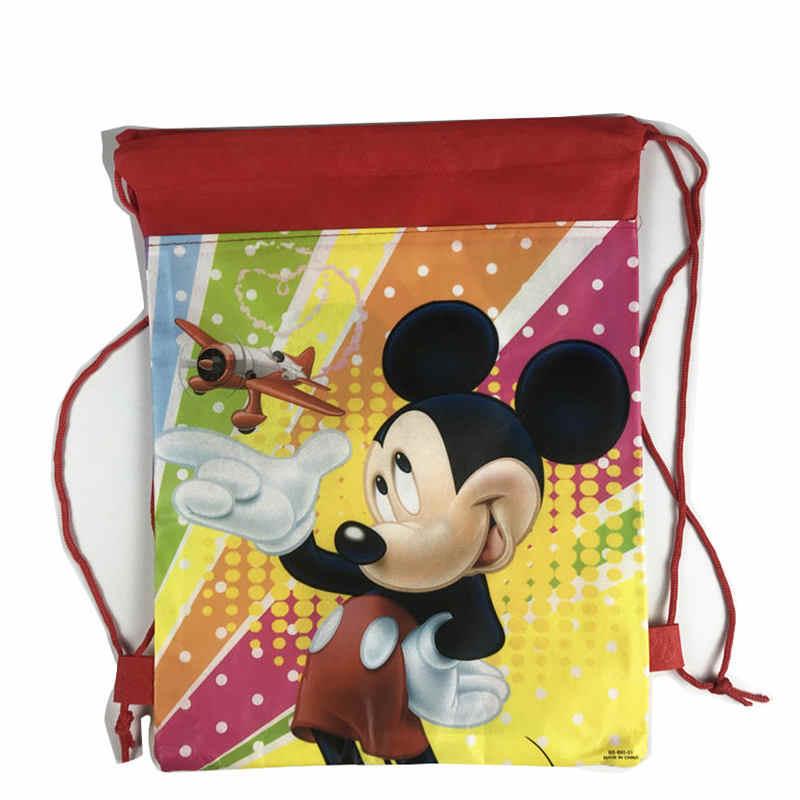Рождественский подарок сумка Школьный рюкзак с рисунком для мальчика, девочка Единорог мешок на шнурке Студенческая Книга Сумка детская школьная сумка