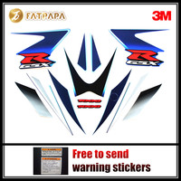 motorcycle Fairing Fuel tank Body stickers FOR SUZUKI Hayabusa GSXR1000 GSXR 1000 k5 2006