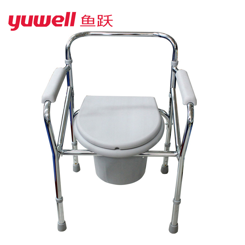 Diving H022B mobile commode chair potty chair toilet seat elderly ...