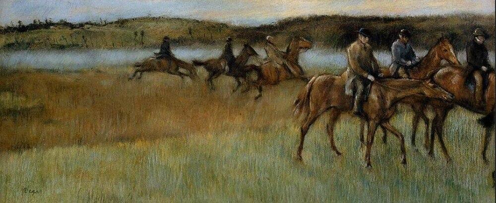Haute qualité peinture À L'huile Toile Reproductions Les Formateurs (1892-1894) Par Edgar Degas peint à la main