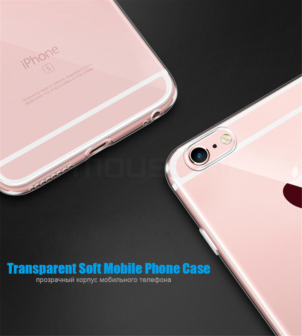 MOUSEMI For iPhone 6 Case Silicone Transparent 6S For iPhone Case Luxury TPU Coque Clear For iPhone 6 6s Plus Phone Cases Cover (4)